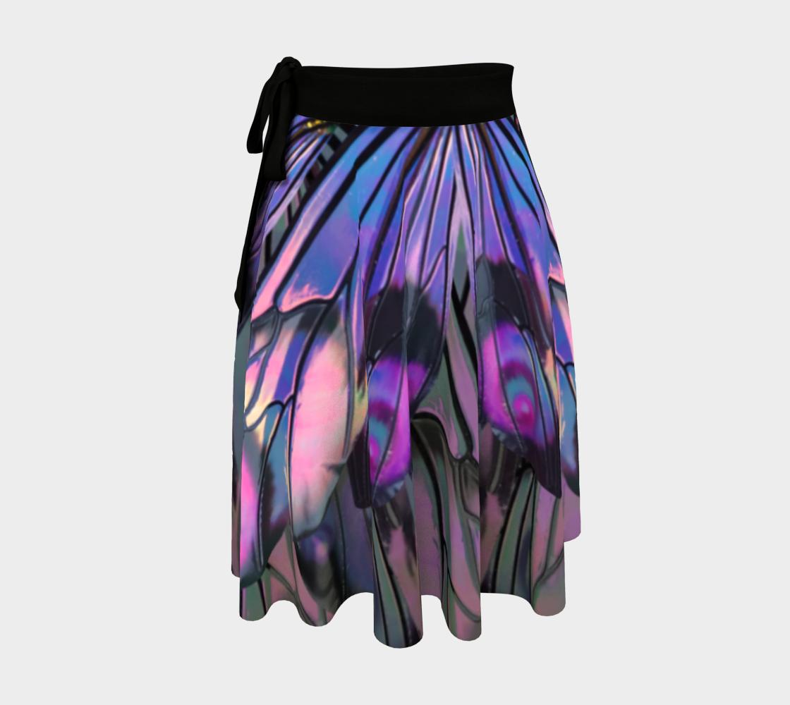Unseelie Ellette Bright Wrap Skirt preview
