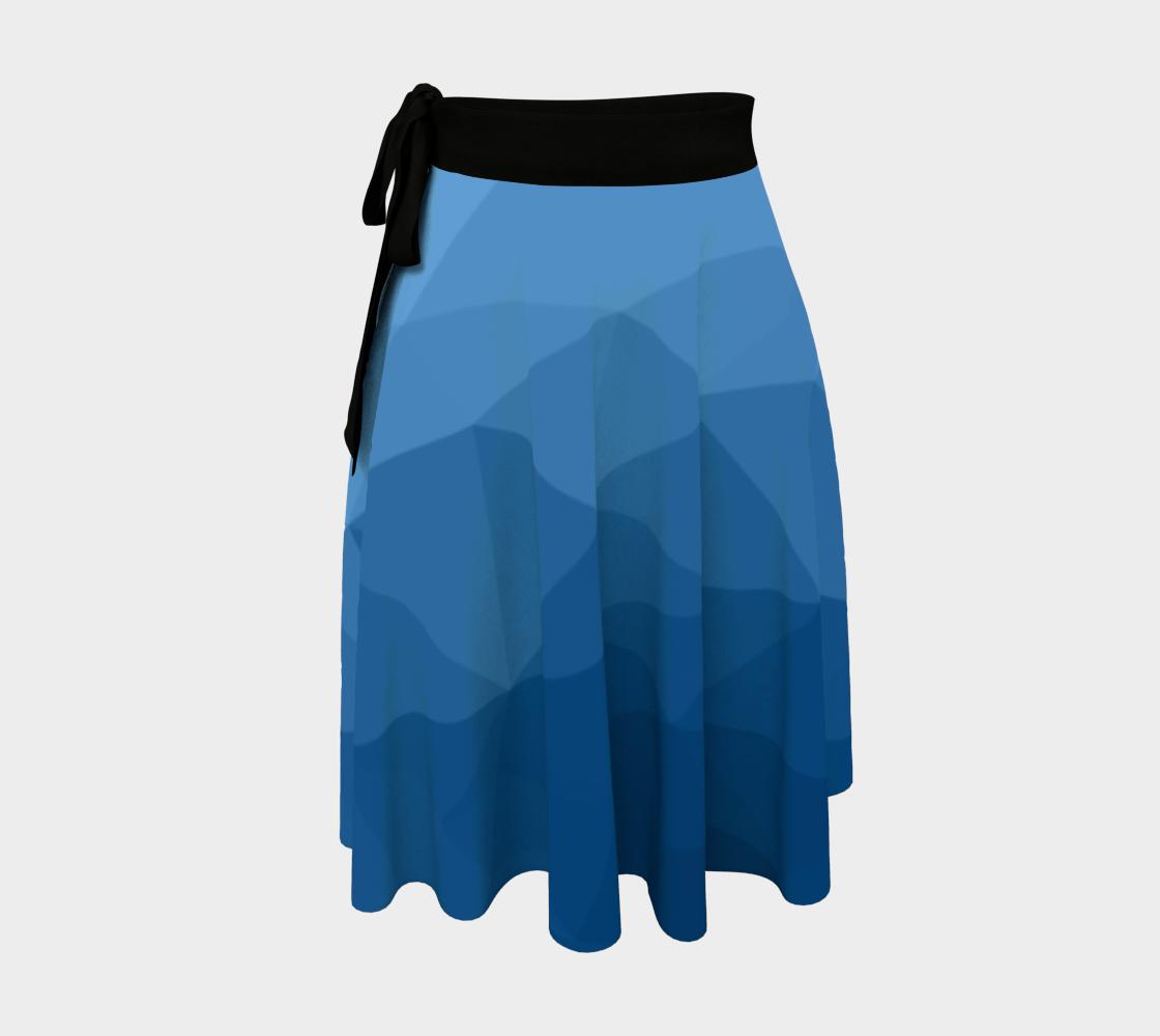 Classic Blue geometric mesh ombre aperçu