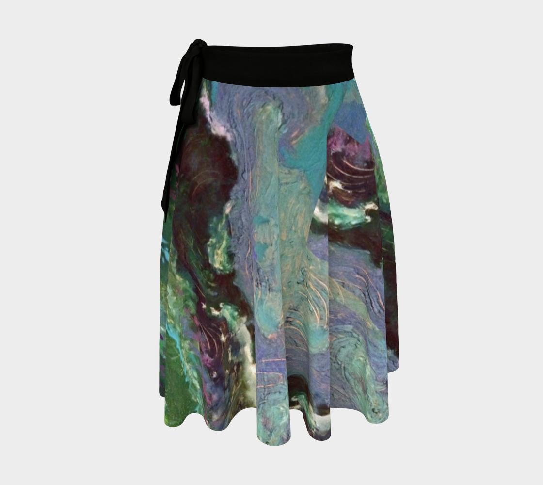 Night Waves Tsunami Wrap Skirt preview