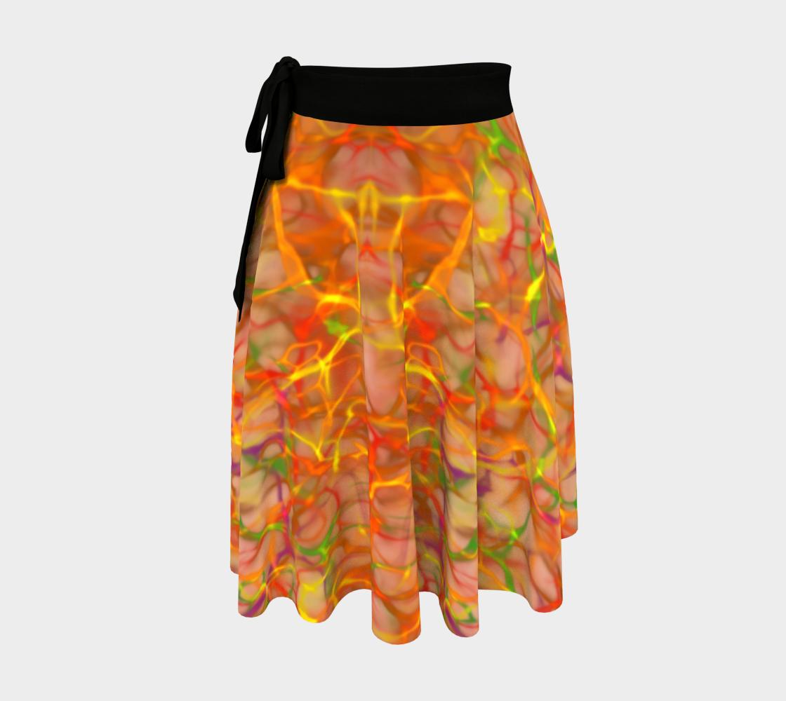 Autumn Fire - Wrap Skirt preview