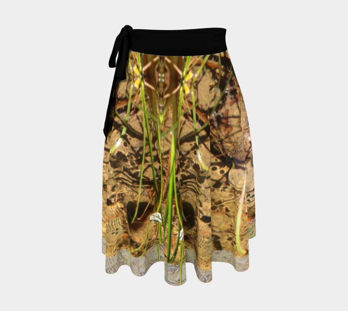 Aperçu de Neptune's Kingdom Wrap Skirt
