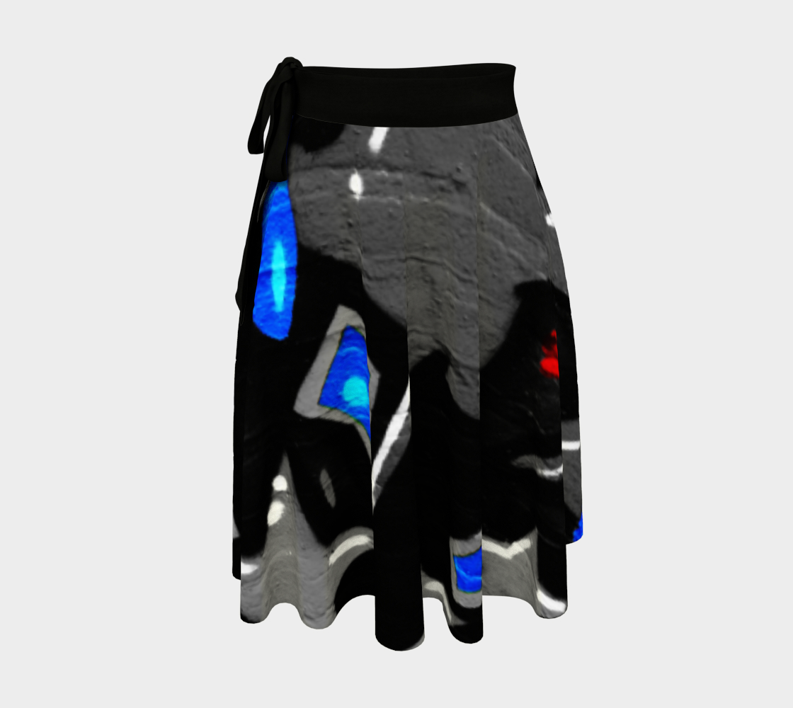 Graffiti 3 Wrap Skirt preview