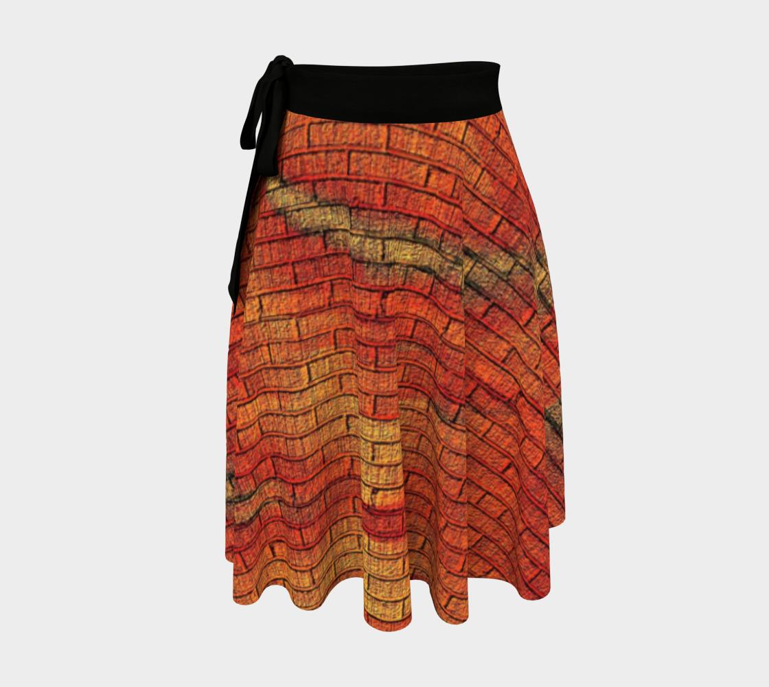 Warm Swirl Wrap Skirt preview