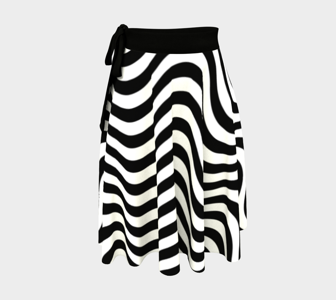 Waves Wrap SKirt preview