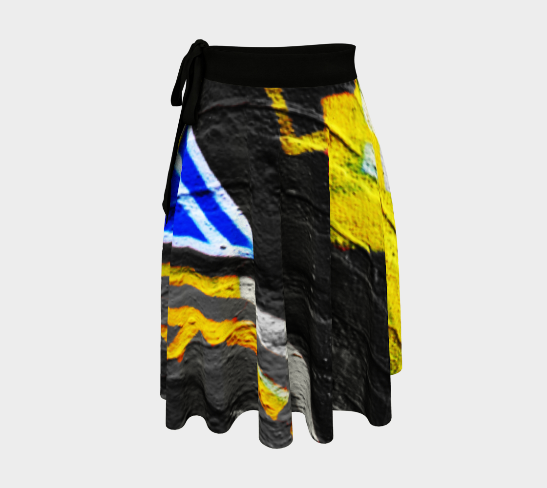 Graffiti 6 Wrap Skirt preview