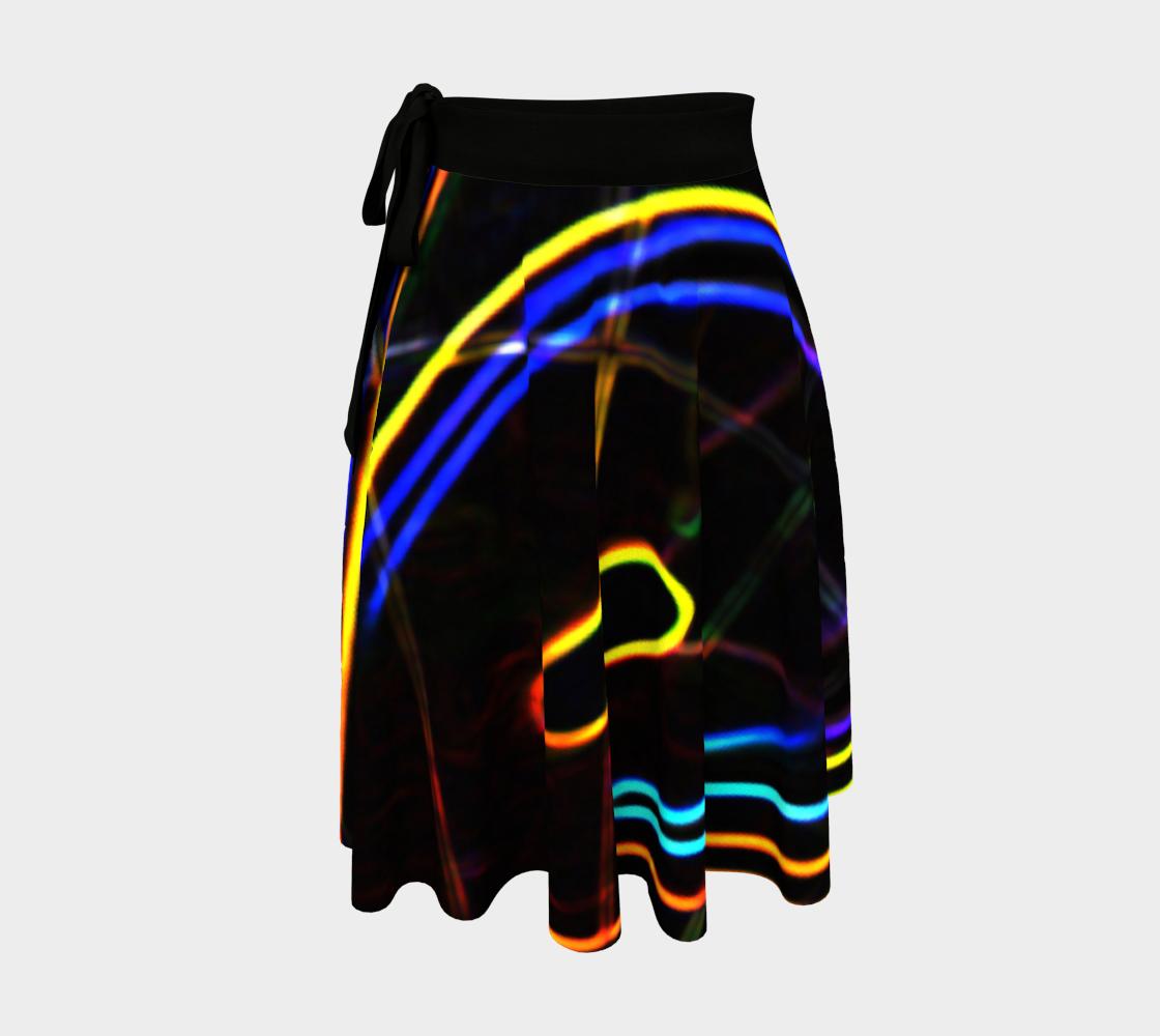Graffiti 10 Wrap Skirt preview