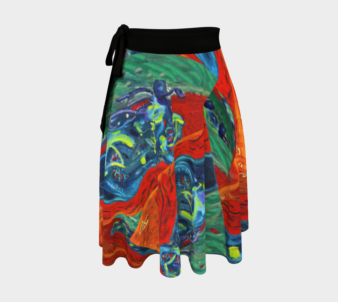 Soft Harley Watches Wrap Skirt preview