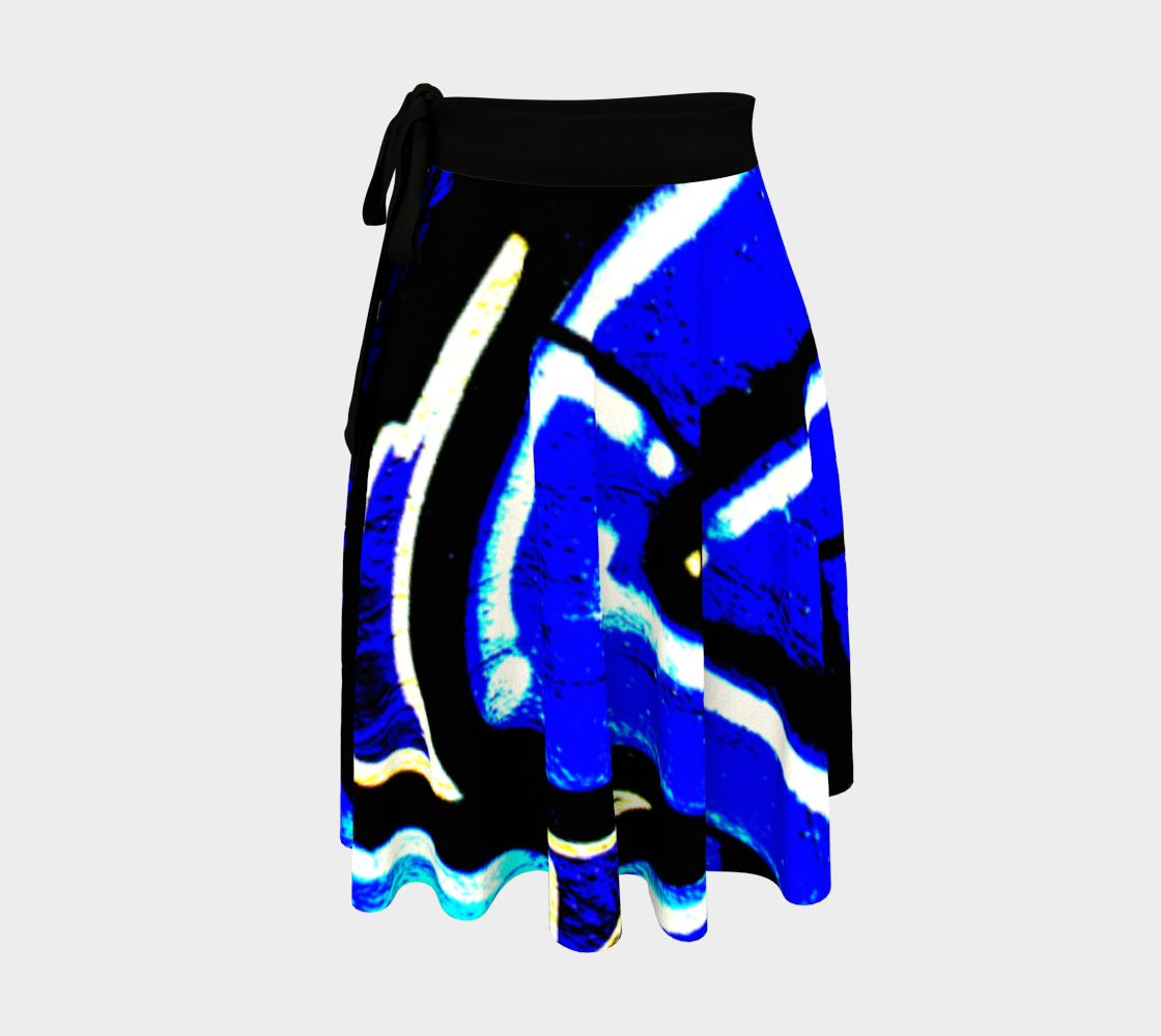 Graffiti 13 Wrap Skirt preview