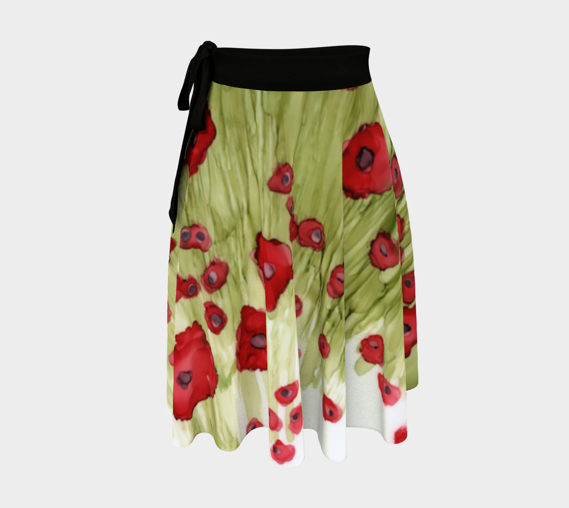 Flanders Field Wrap Skirt preview