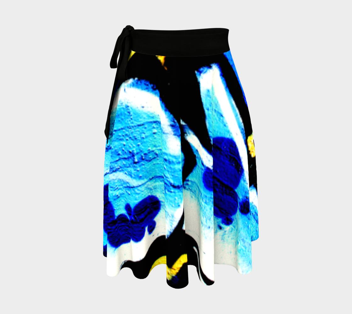 Graffiti 15 Wrap Skirt preview