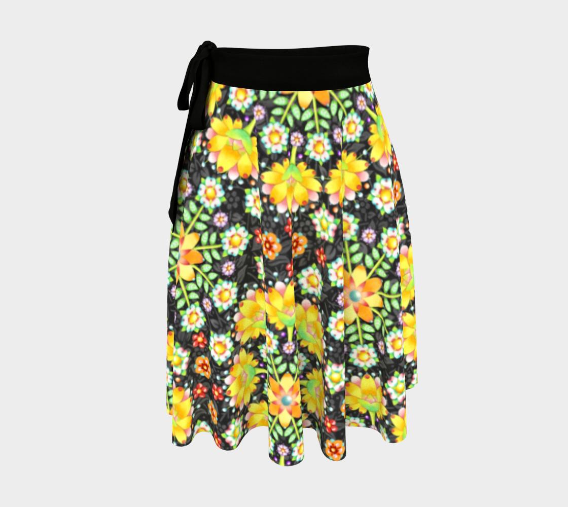 Aperçu de Flower Crown Wrap Skirt