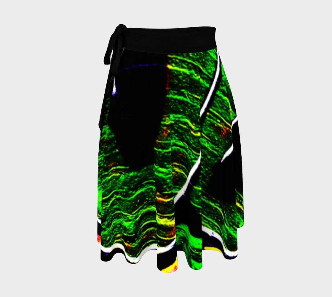 Graffiti 18 Wrap Skirt preview