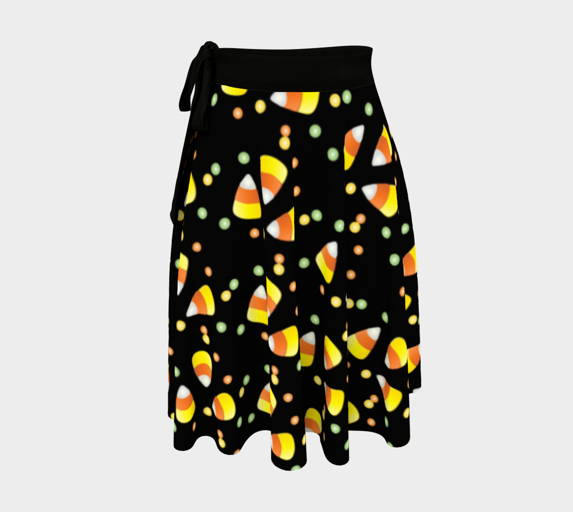 Candy Corn wrap skirt preview