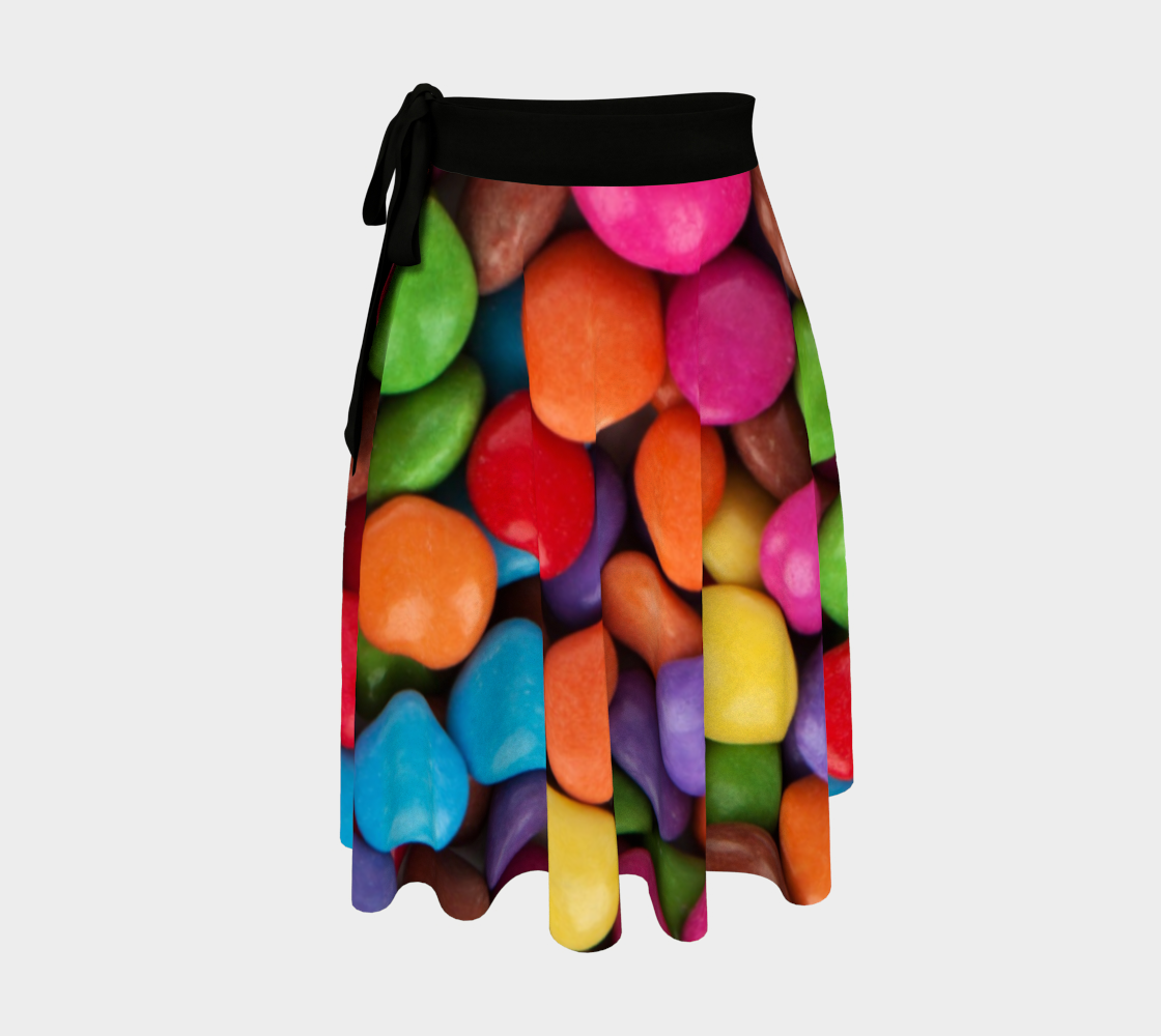 Candy Dots wrap skirt preview