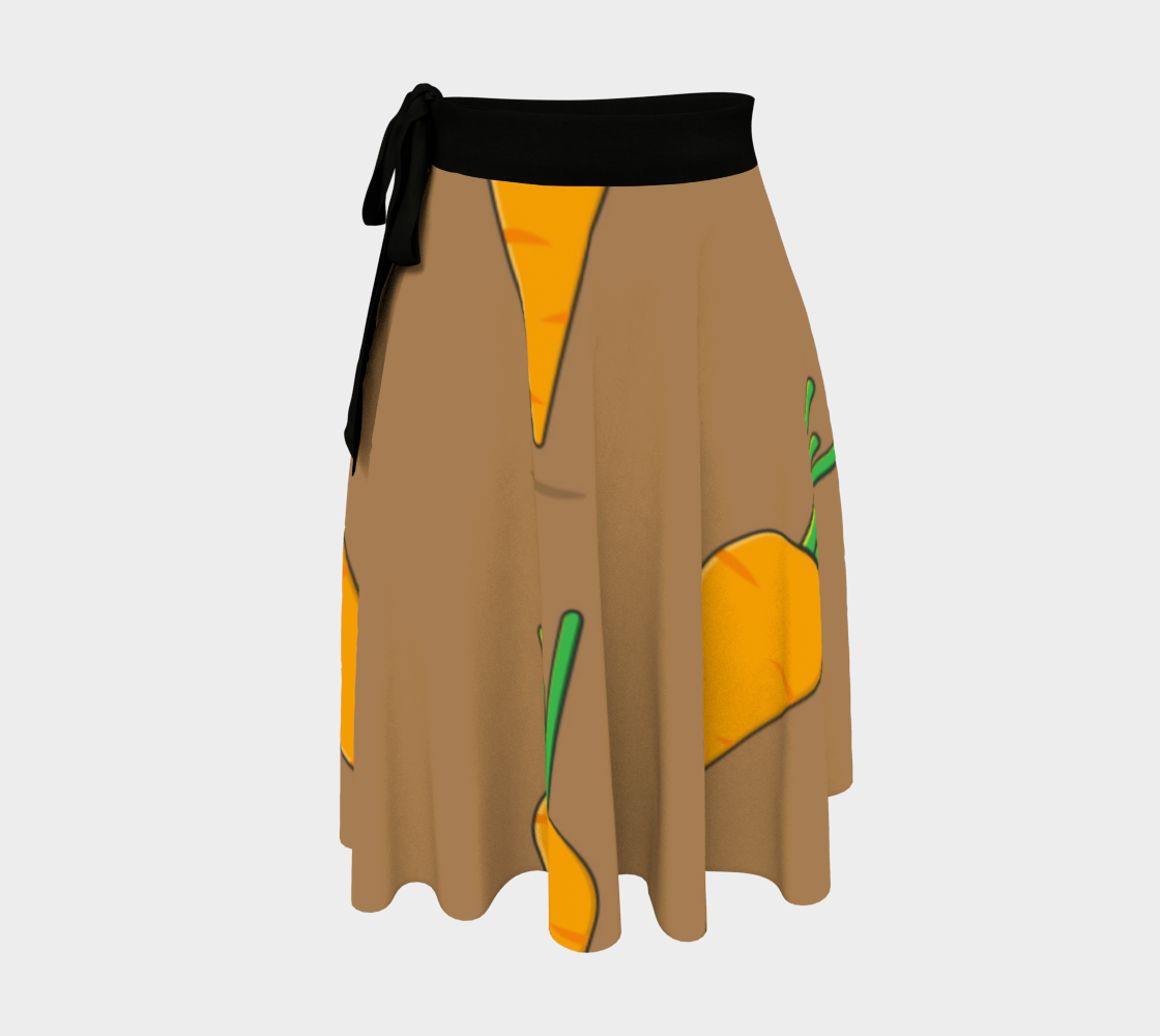 Carrots wrap skirt preview