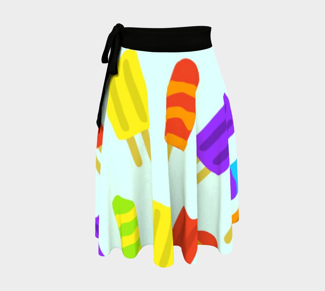 Cool Refreshment wrap skirt preview