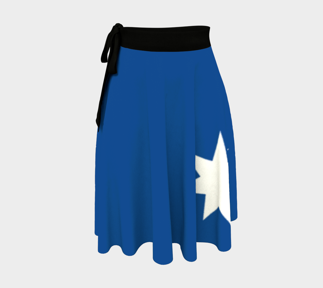 Counting Stars wrap skirt preview