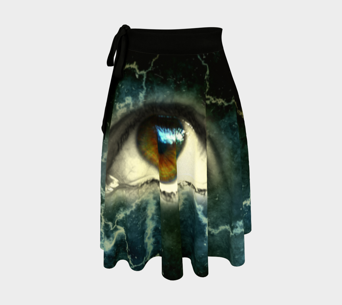 Cracked Eye wrap skirt preview