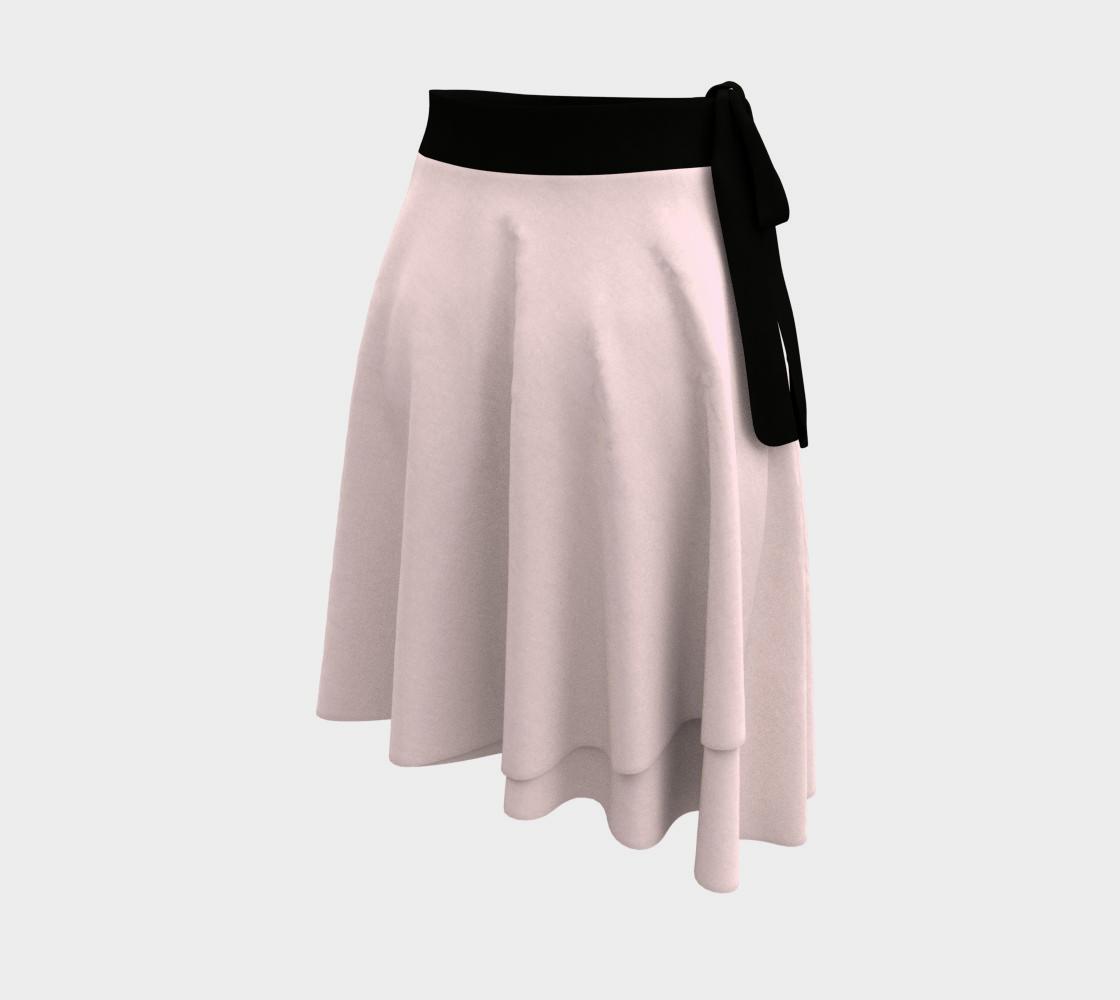 Cupcake Pink wrap skirt preview #2
