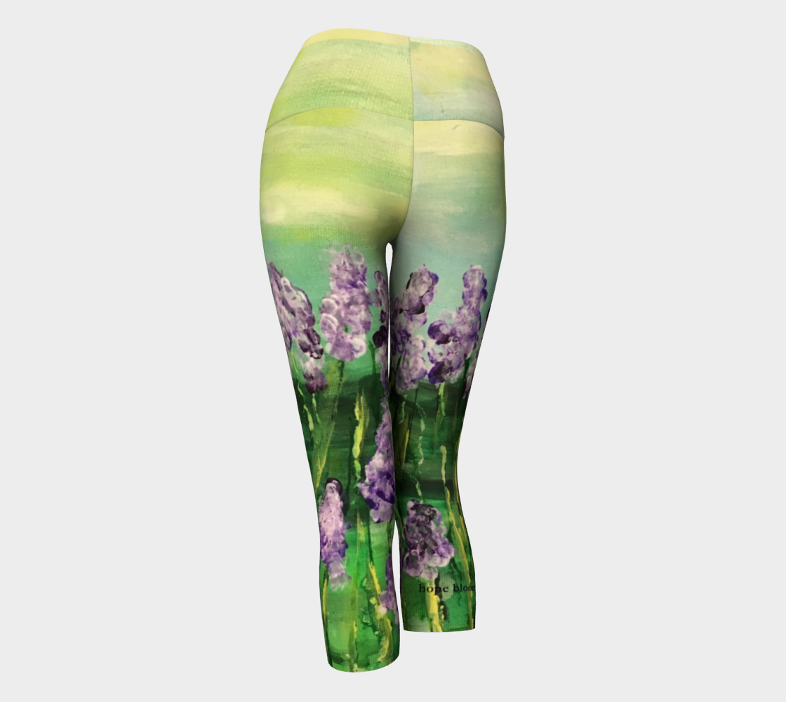 NM Hope Blooms Yoga Capris Miniature #4