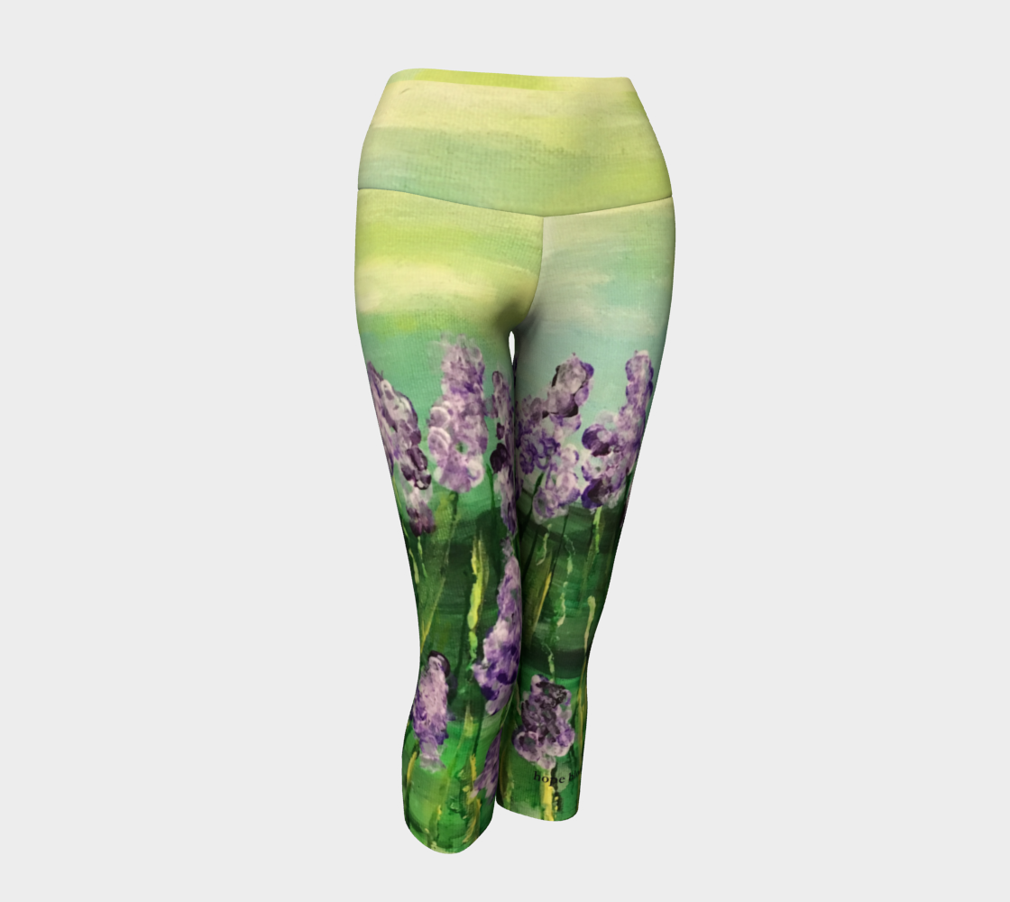 NM Hope Blooms Yoga Capris Miniature #2