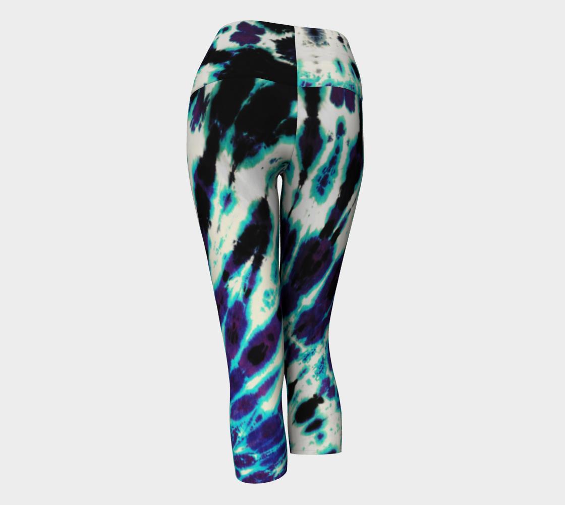 Tie Dye Yoga Capri preview #3