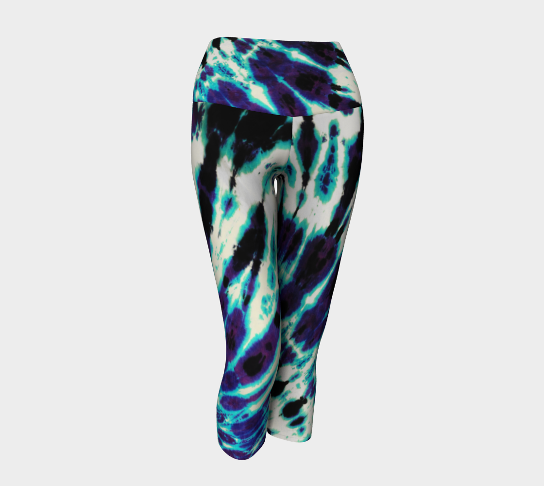 Tie Dye Yoga Capri preview #1