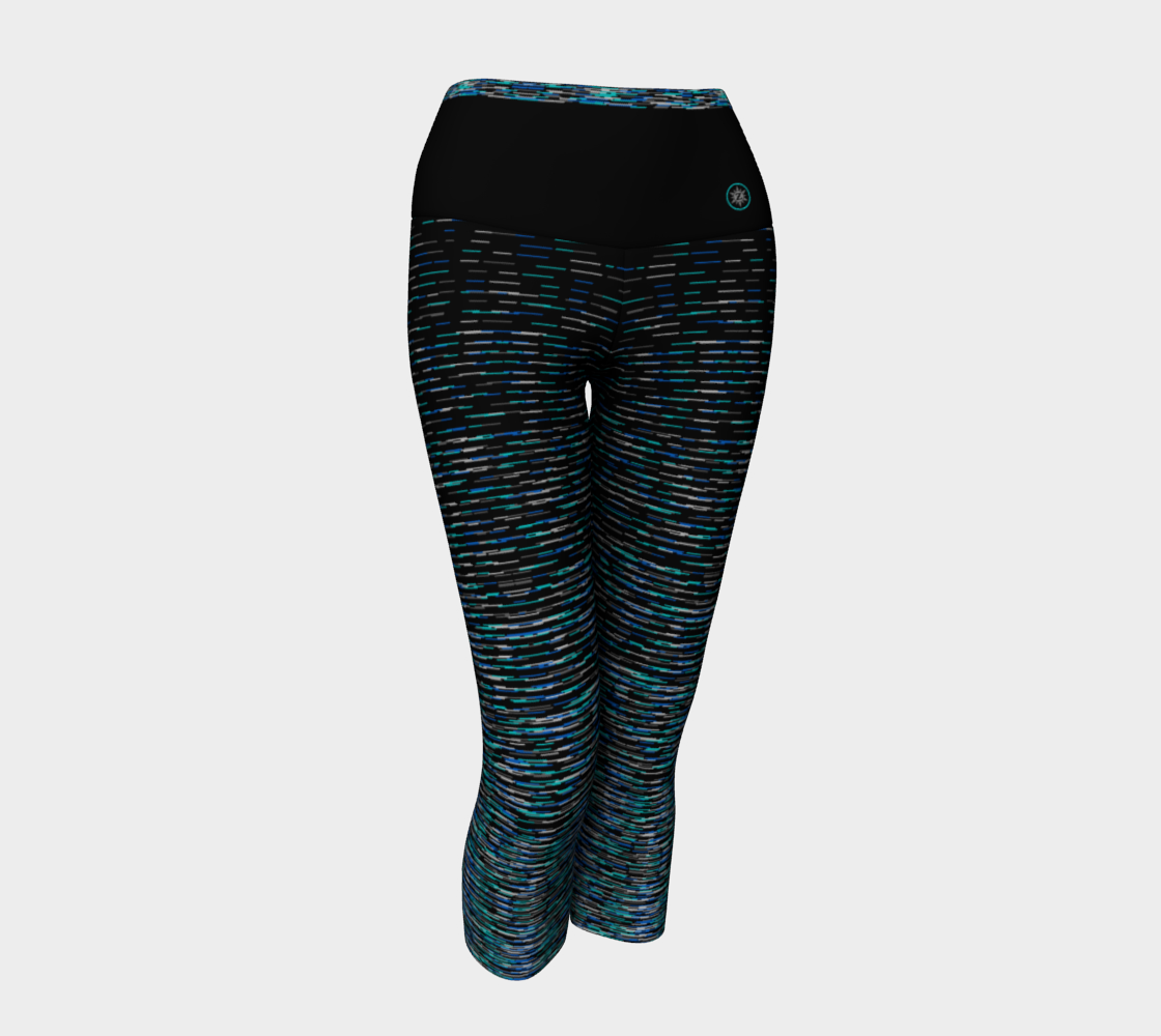 Allover Space Dyed Turquoise Gray Blue preview