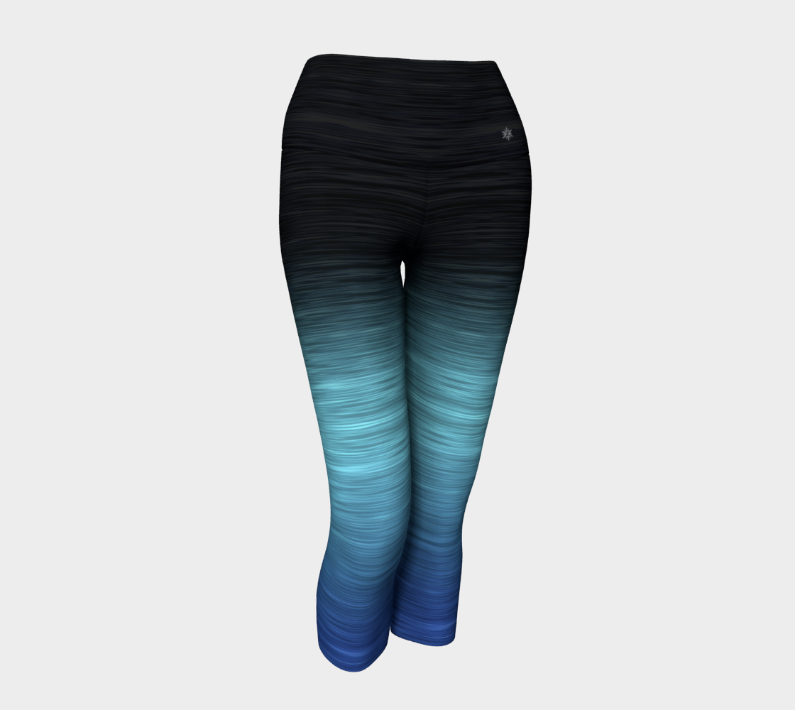 Black Turq Blue Ombre preview