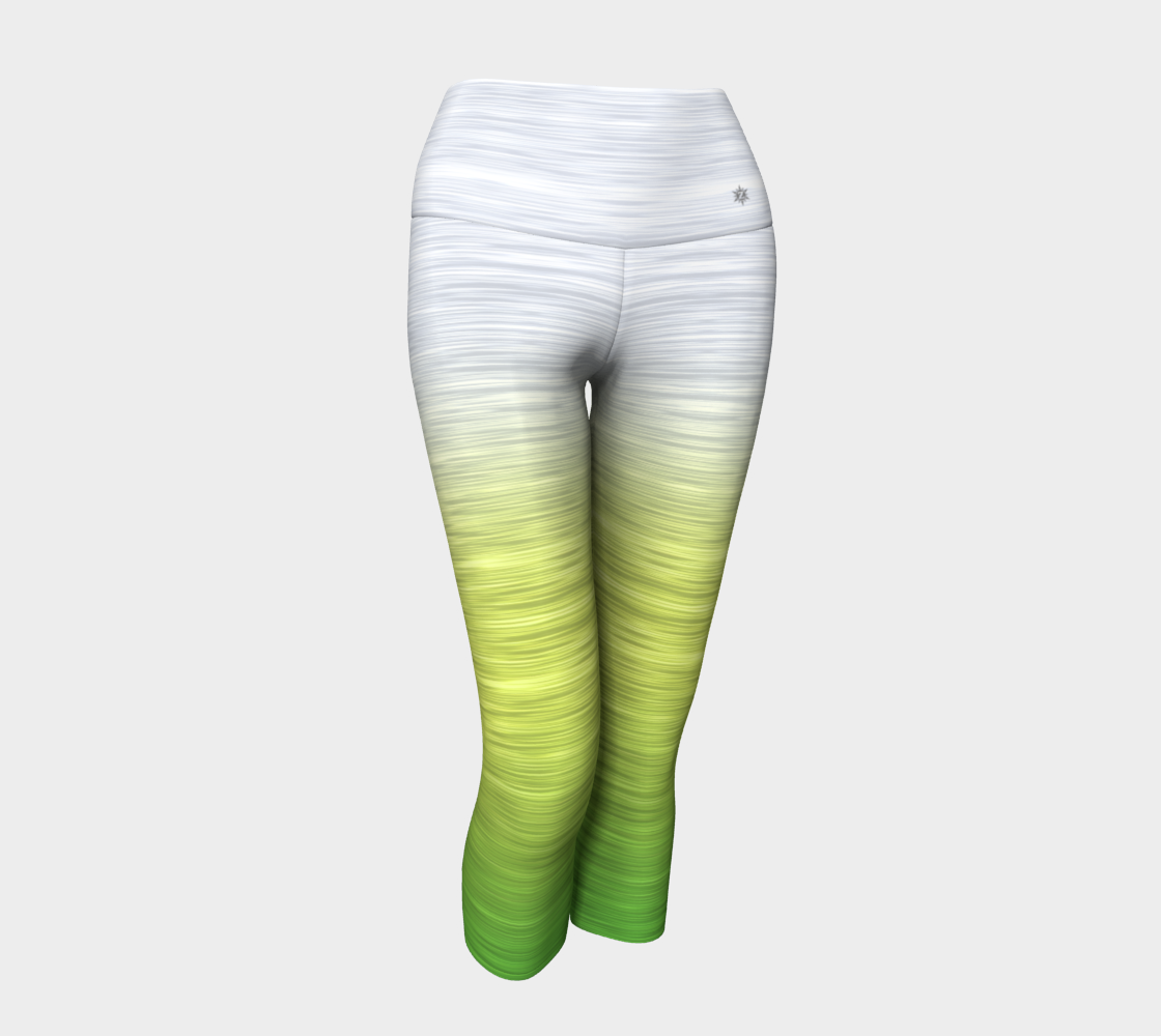 White Yellow Green Ombre preview