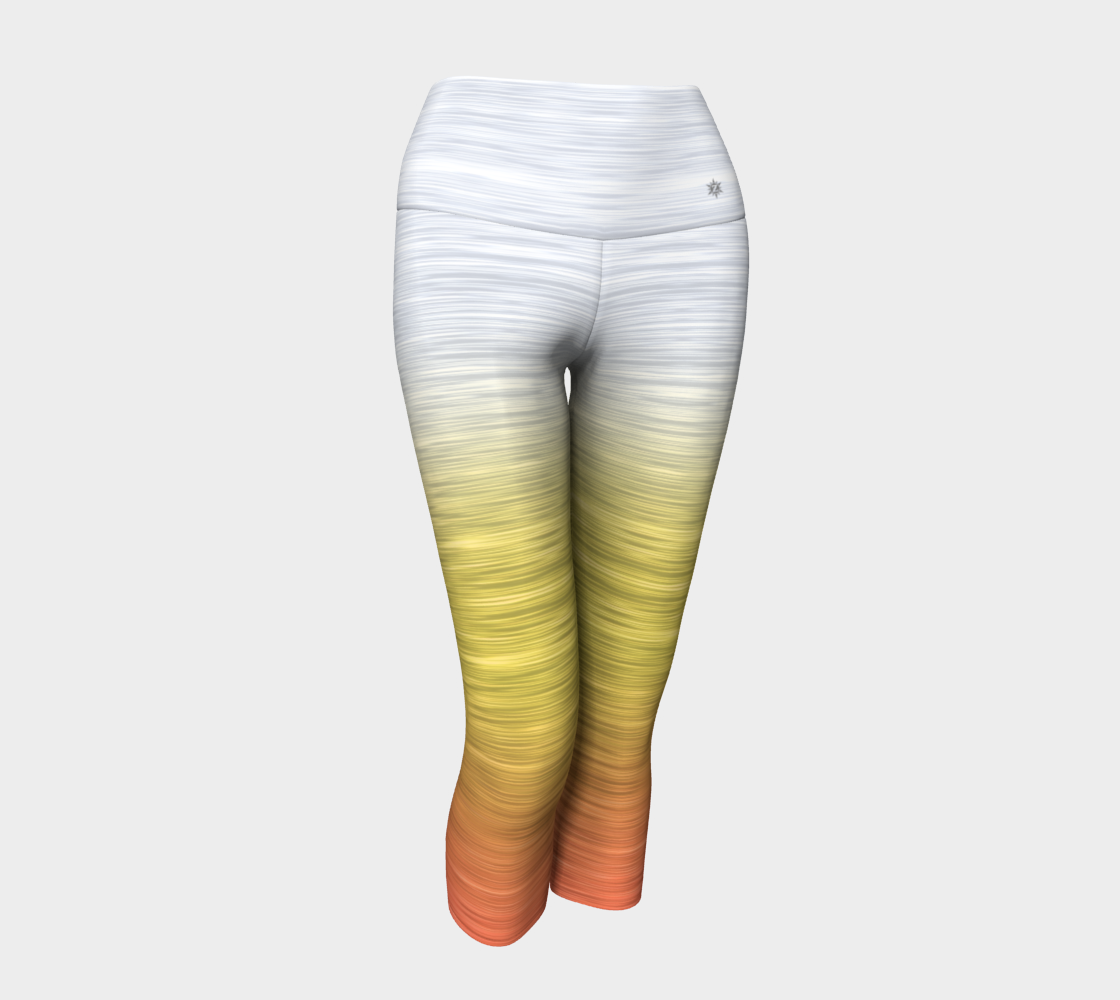 White Yellow Peach Ombre preview