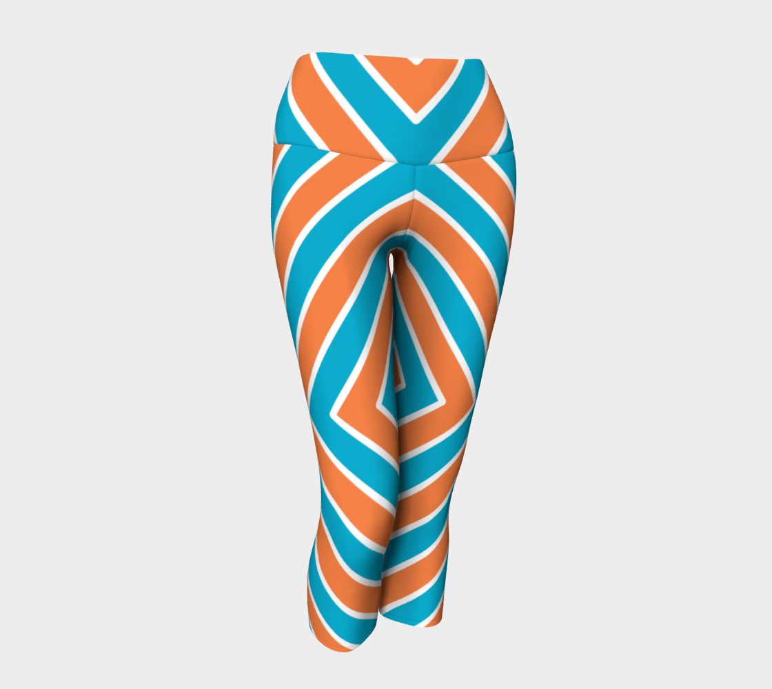 Arrow Pattern Coral & Teal preview
