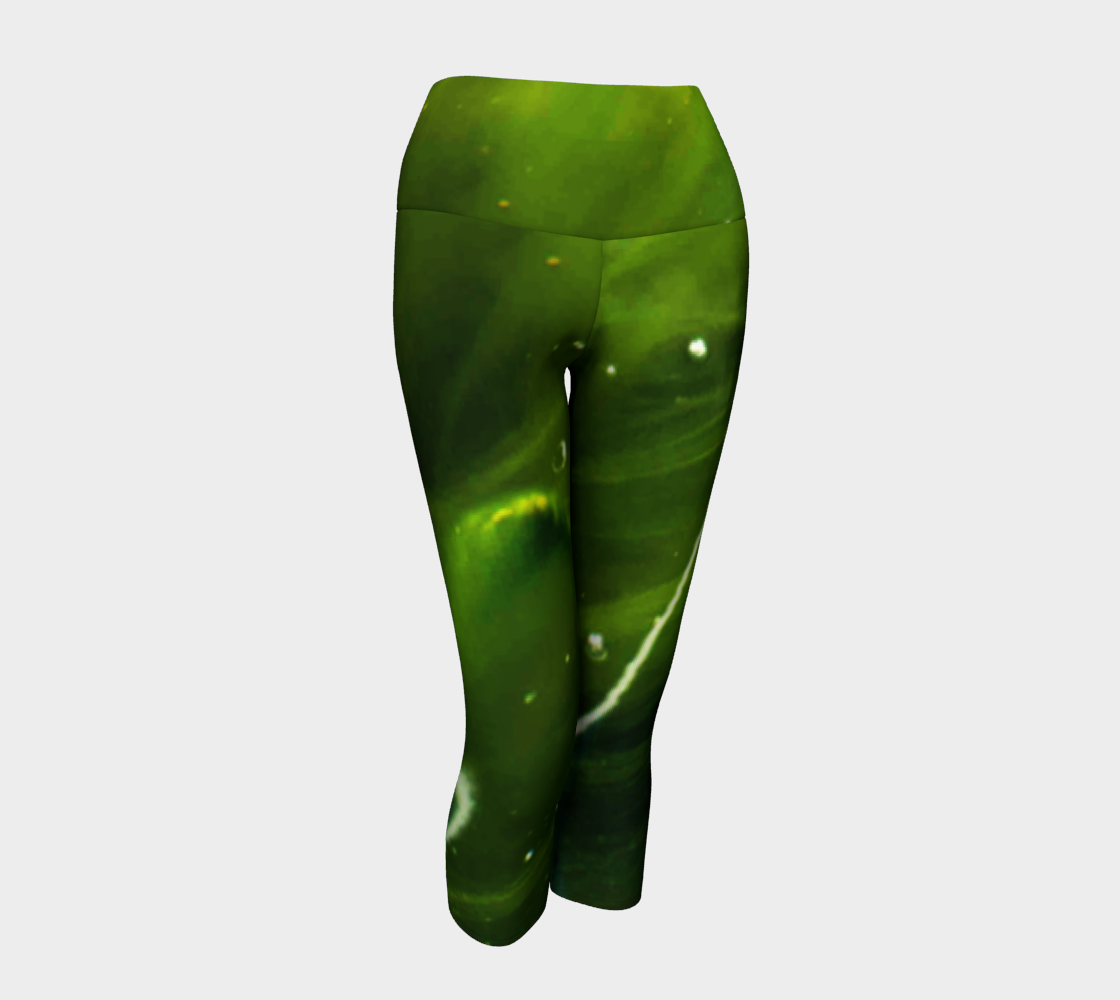 Green Algae Yoga Capris preview