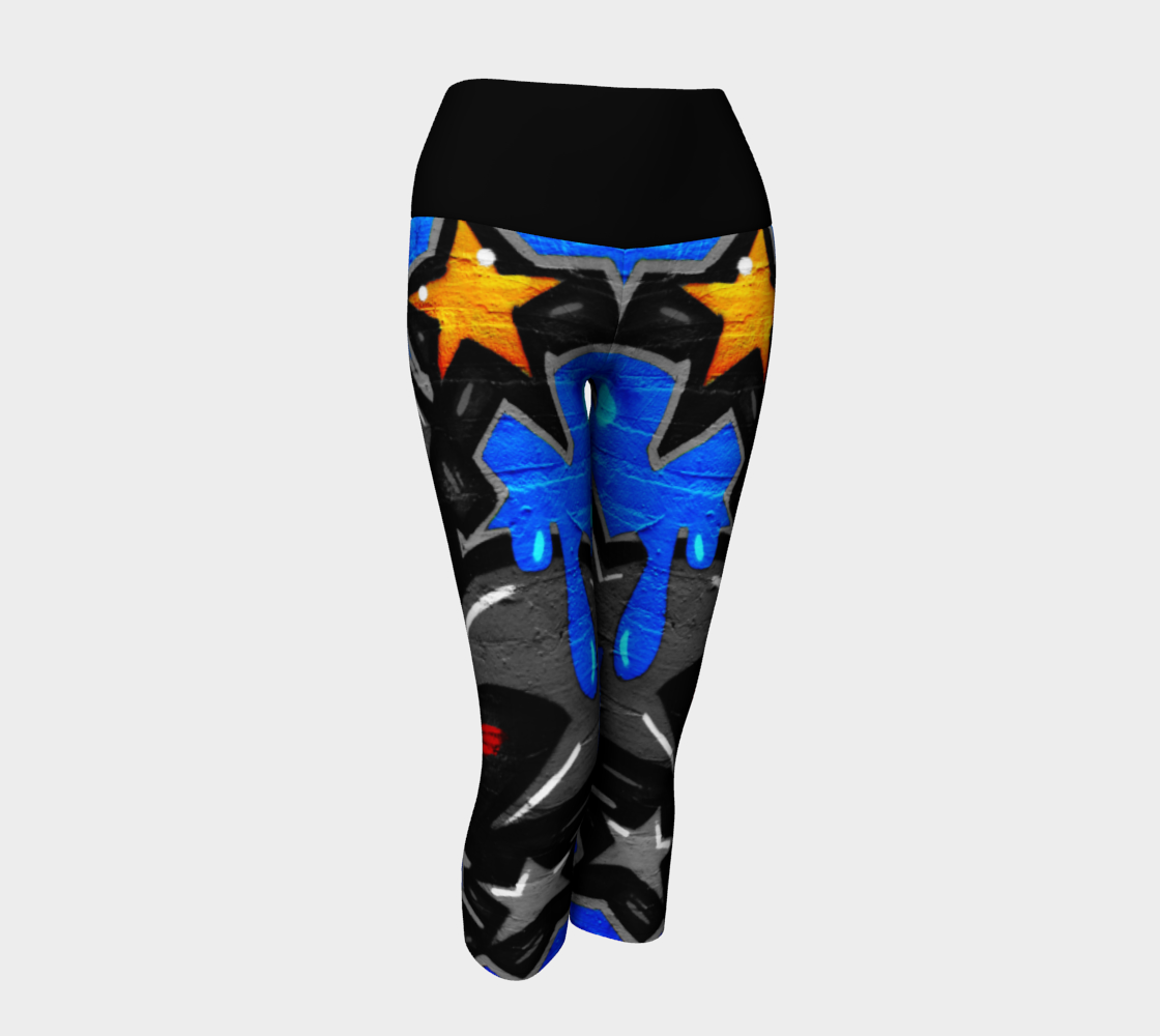 Graffiti 3 Yoga Capris preview