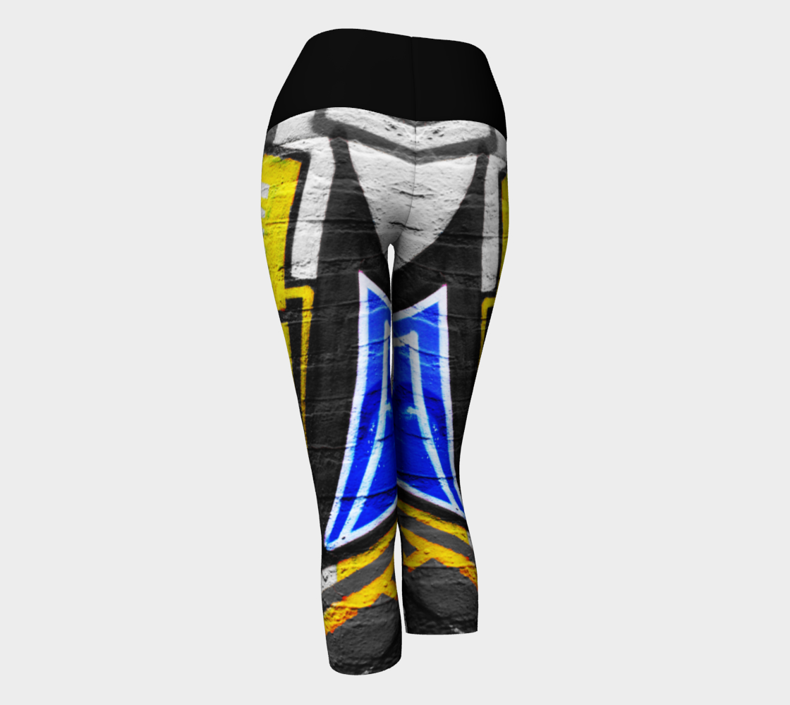 Graffiti 6 Yoga Capris preview #3