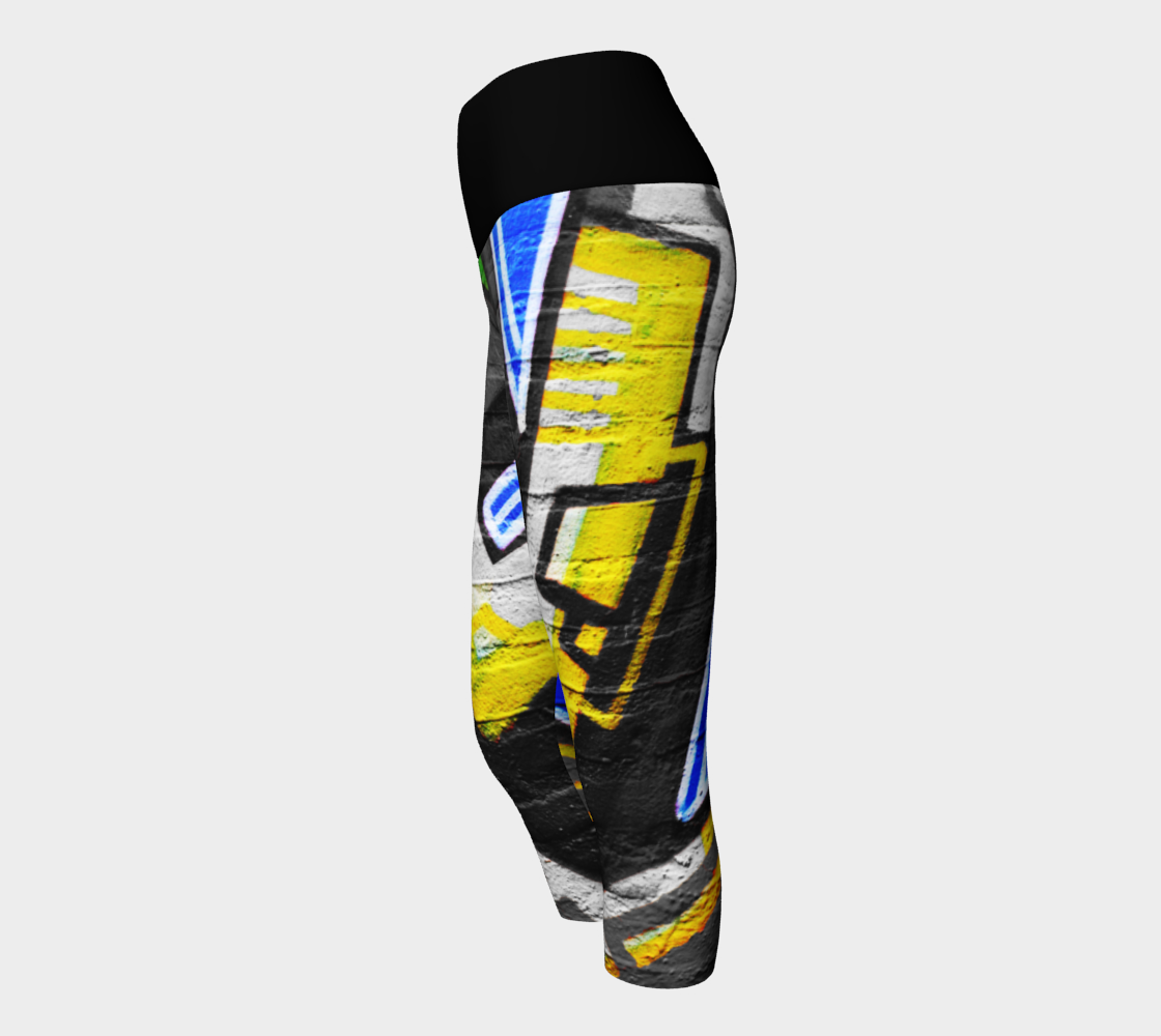Graffiti 6 Yoga Capris preview #2