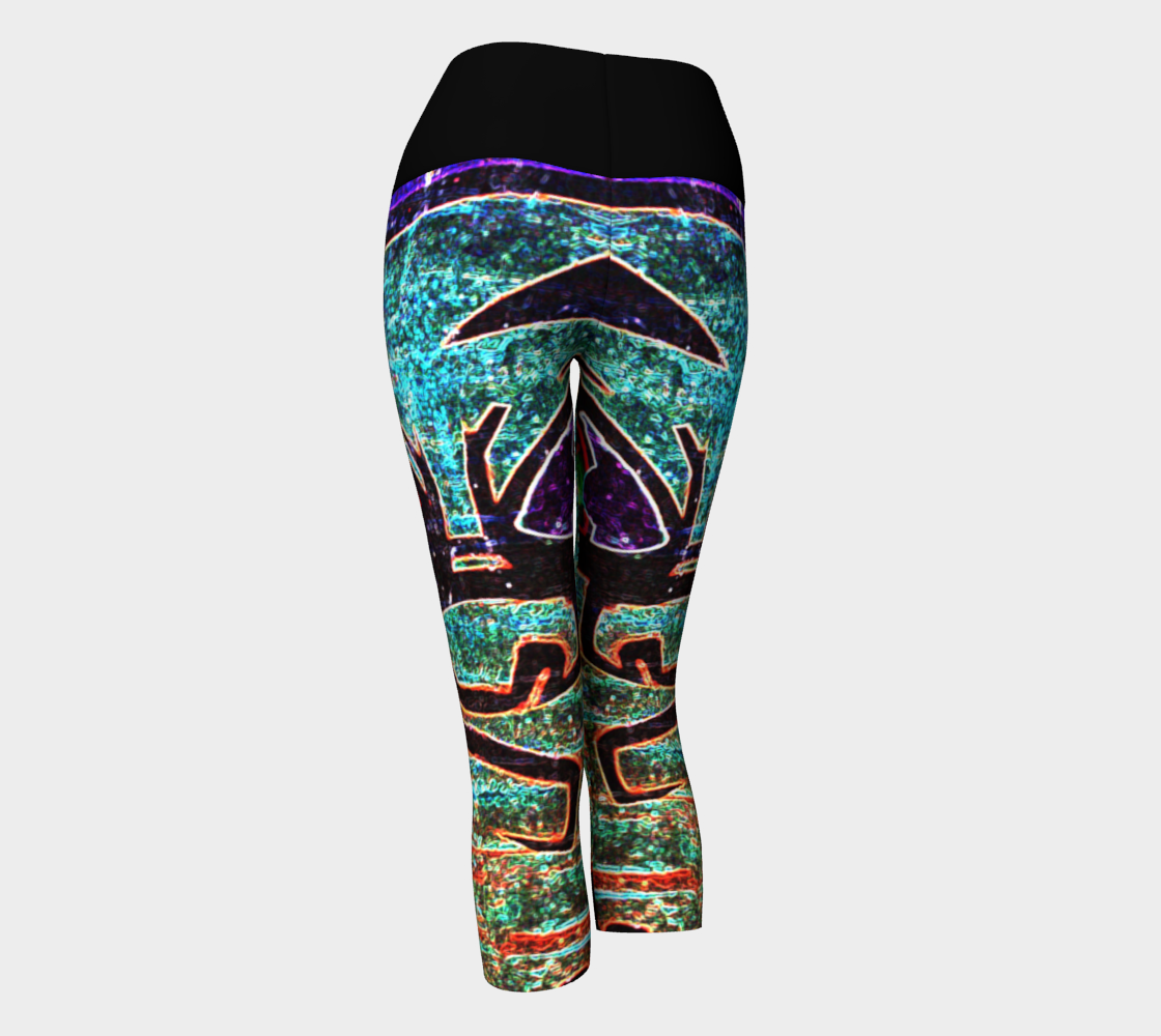 Graffiti 7 Yoga Capris preview #3