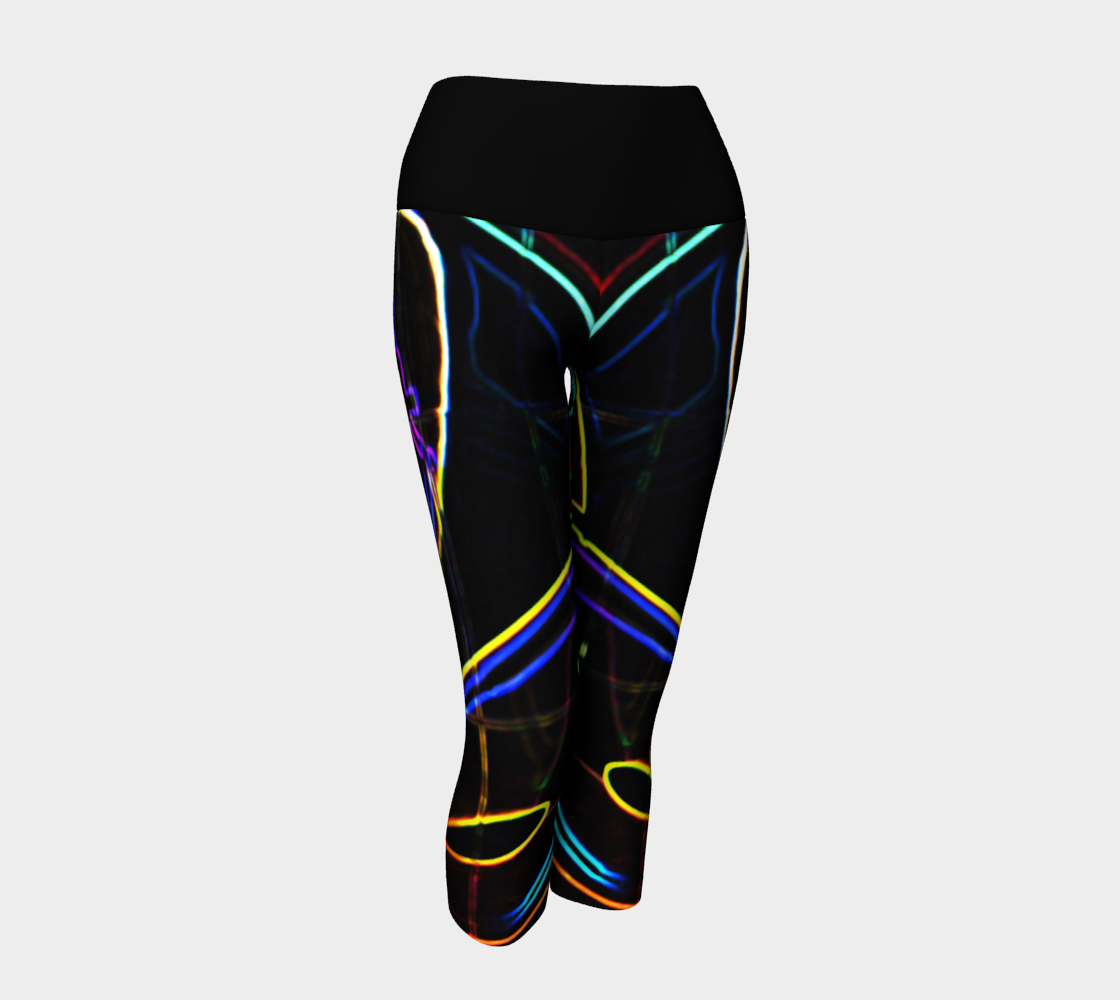 Graffiti 10 Yoga Capris preview #1