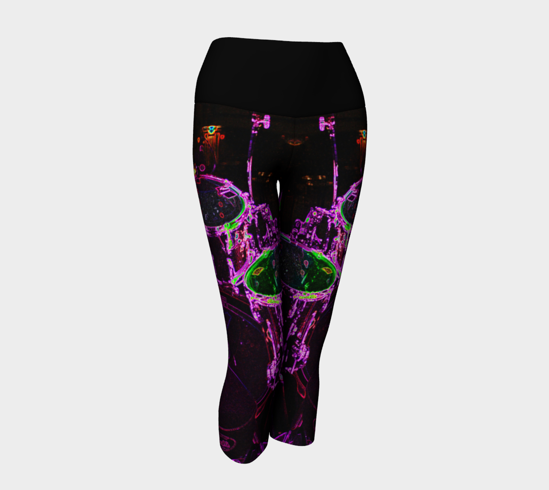 Drums Yoga Capris preview