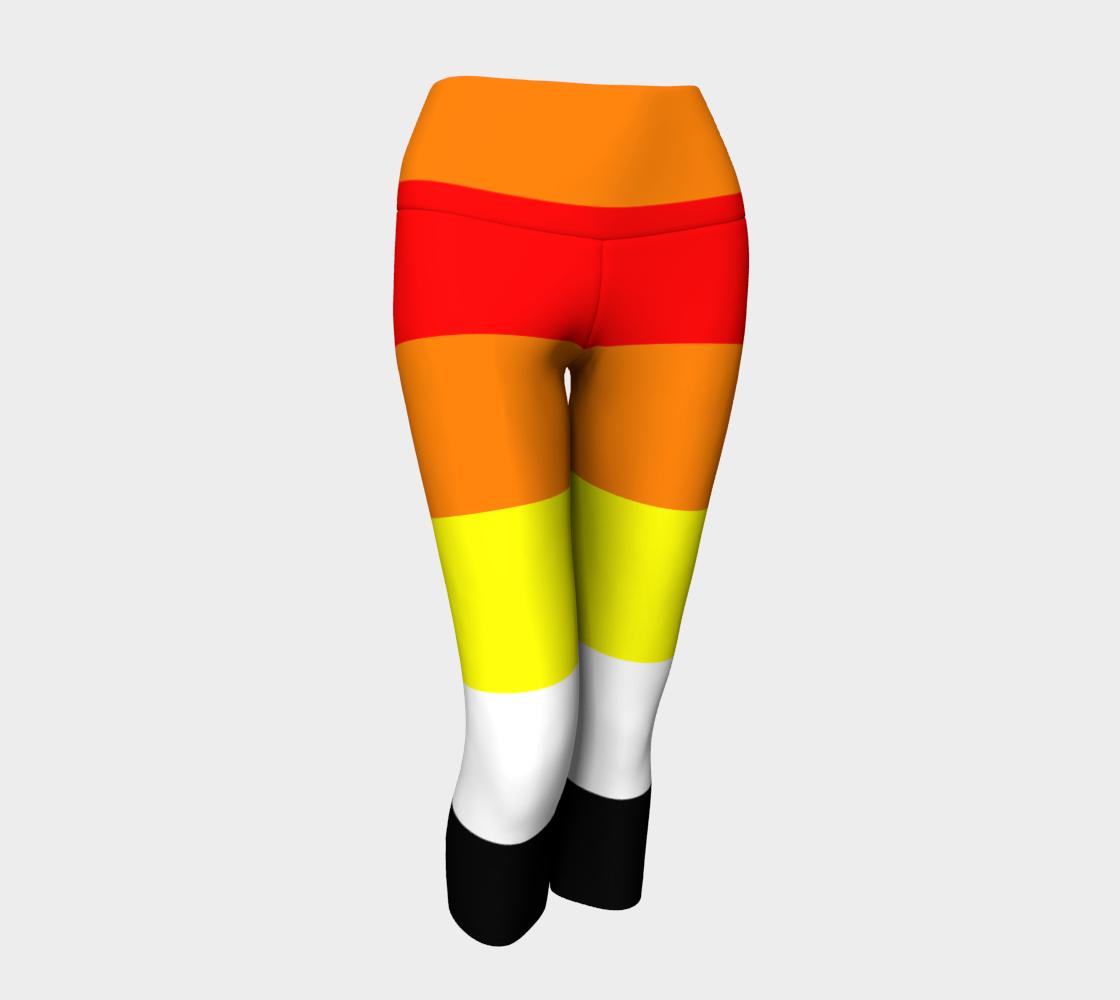 Akoisexual LGBRQ+ Pride Yoga Capris Leggings preview