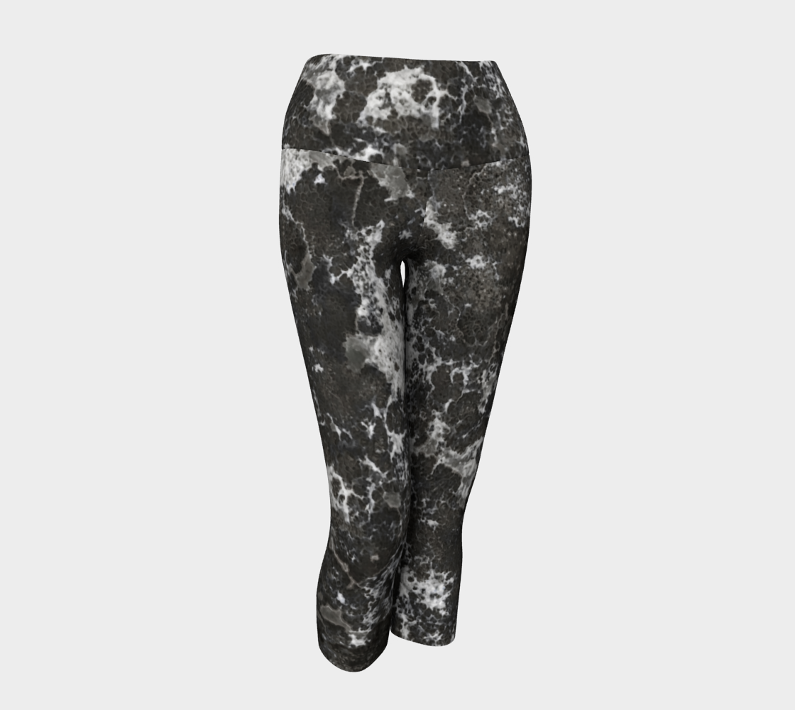 Aperçu de Dark Marble Camouflage Texture Print