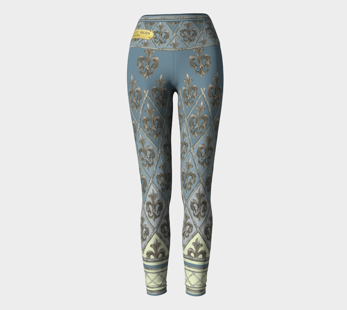 Creole New Orleans Yoga Pants preview