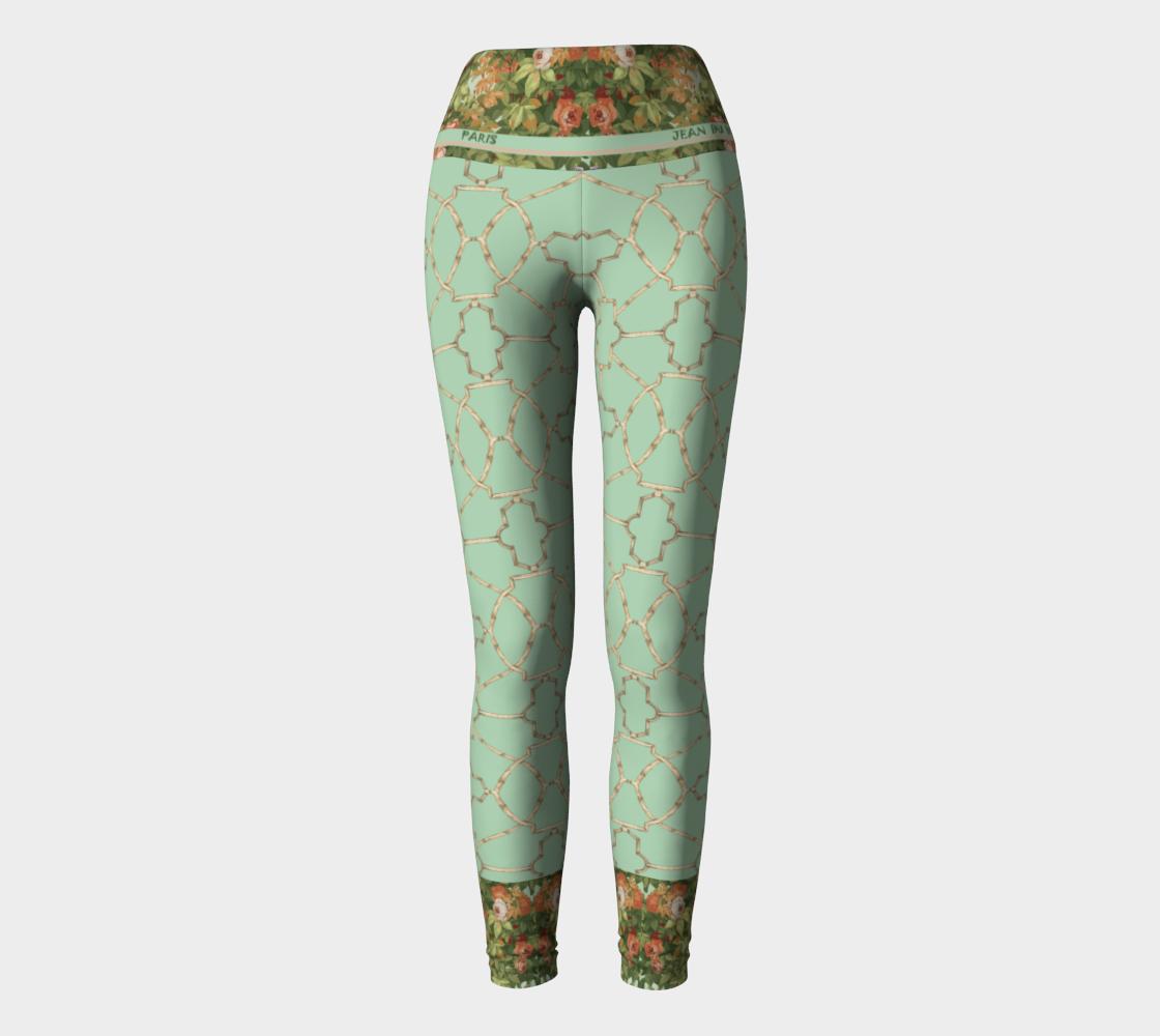 Roses Yoga Pants preview