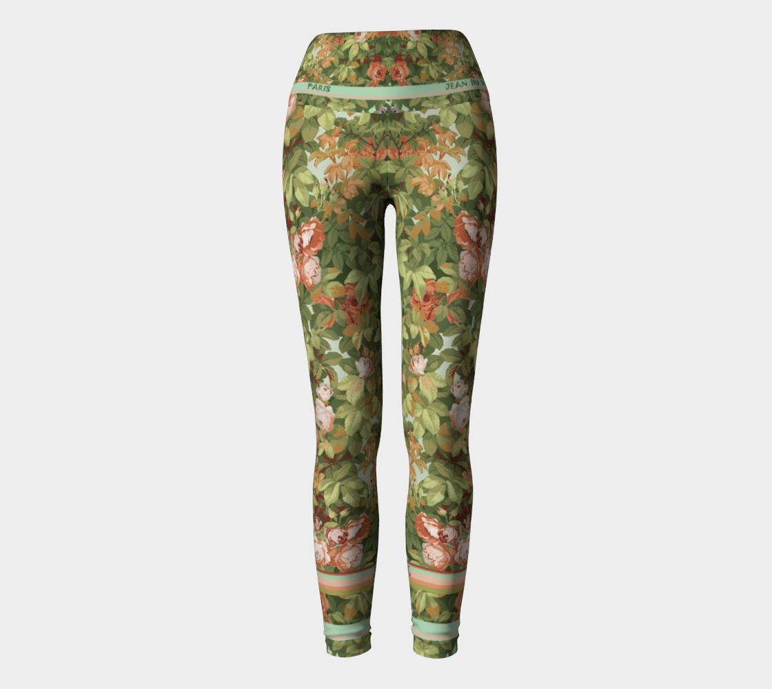 Roses Yoga Pants II preview