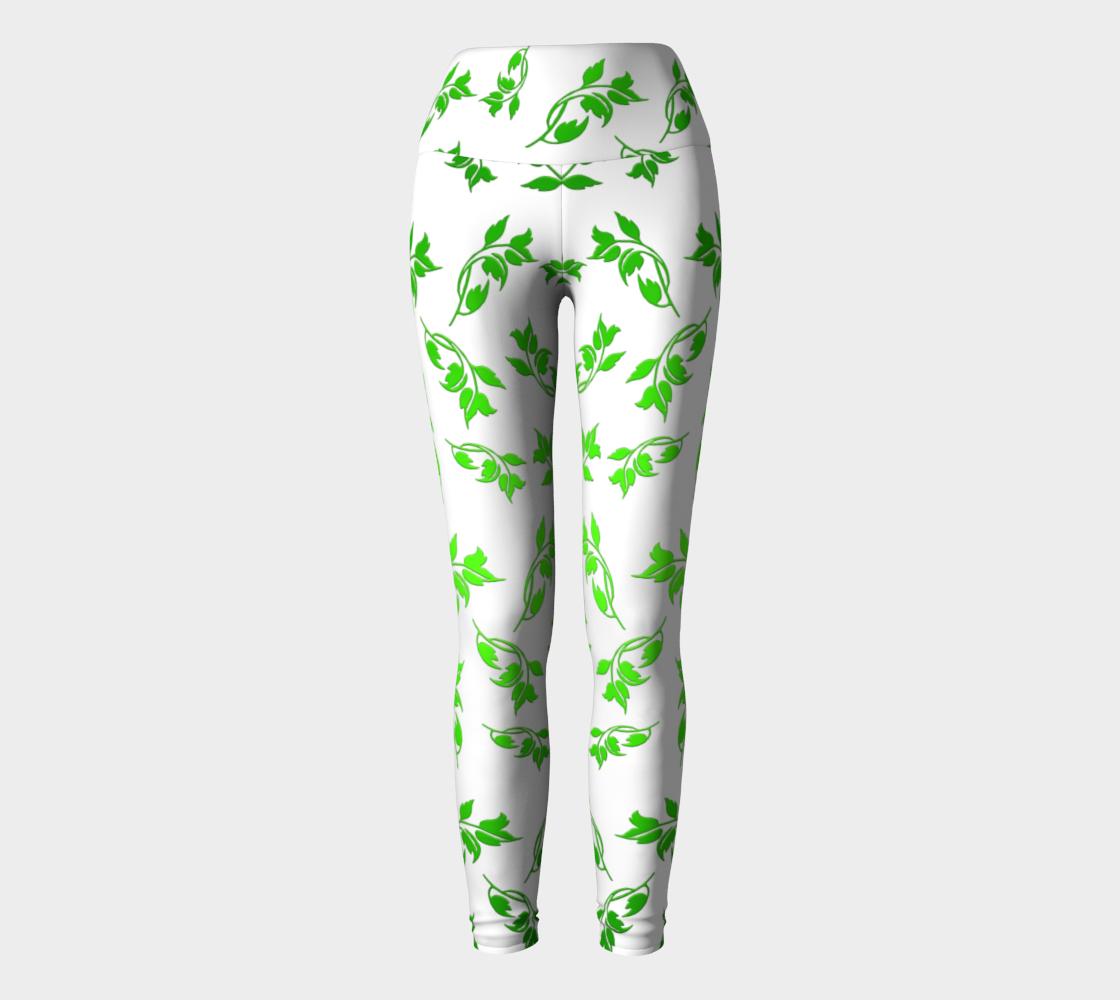 Aperçu de Green Leaves pattern