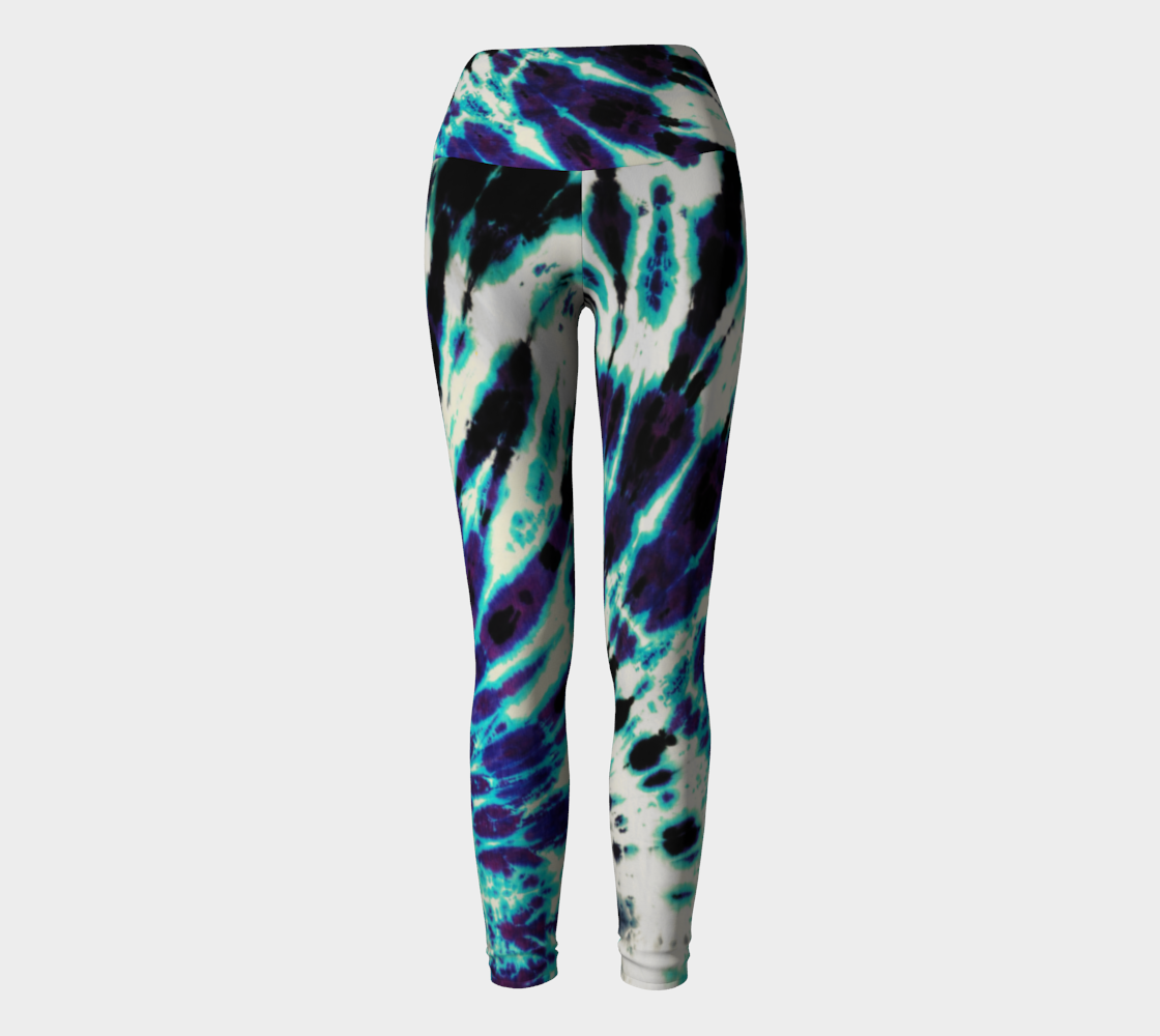 Tie Dye Yoga Leggings preview