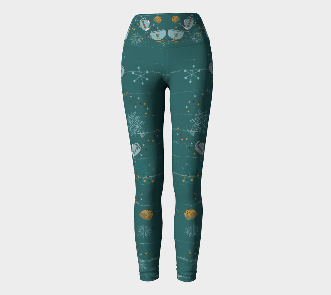 Cozee Christmas Teal preview