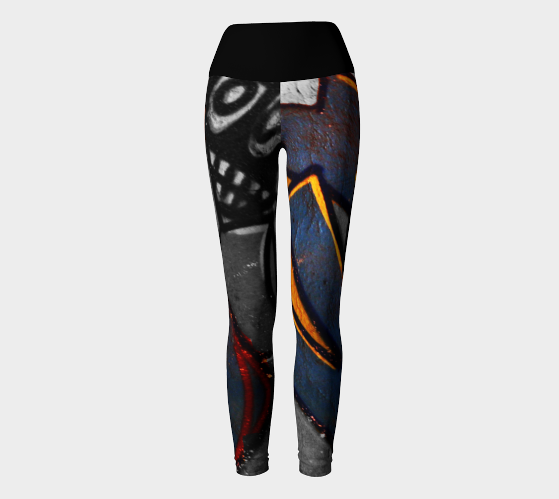 Graffiti 1 Yoga Leggings preview