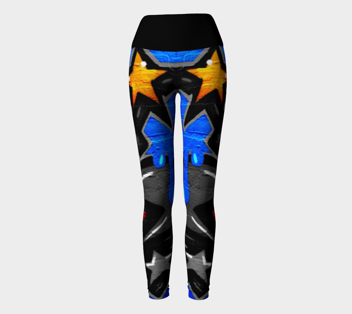 Graffiti 3 Yoga Leggings preview