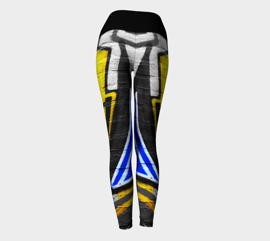 Graffiti 6 Yoga Leggings preview #4